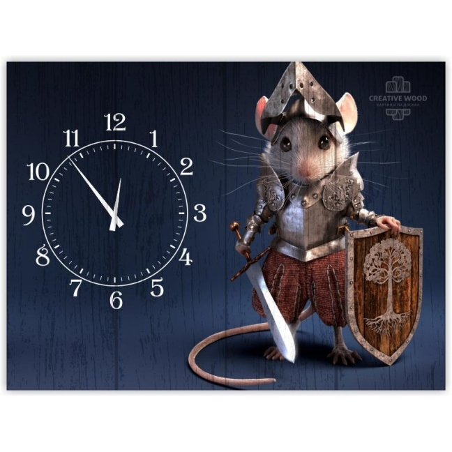 Painting on boards Watch - Mouse