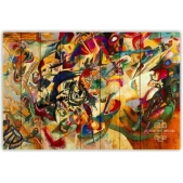 """Picture on the boards """"Abstraction - Issily Kandinsky"""""""