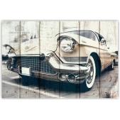 Картины на досках AUTO — Ретро