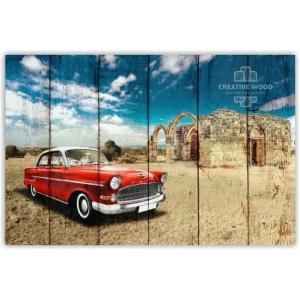 Картина на досках AUTO — Автомобиль