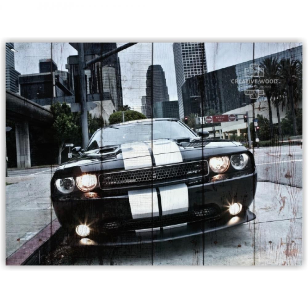 Картины на досках AUTO — Додж
