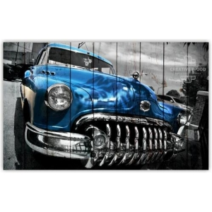 Картины на досках AUTO — Винтаж