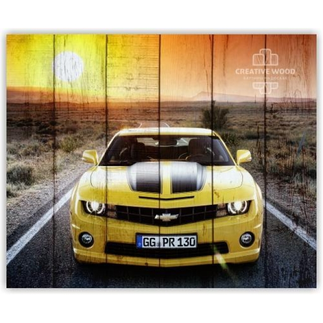 Painting on boards Pictures on the boards AUTO - Chevrolet