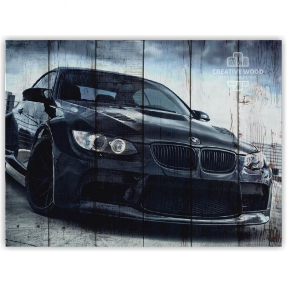 Картины на досках AUTO — БМВ
