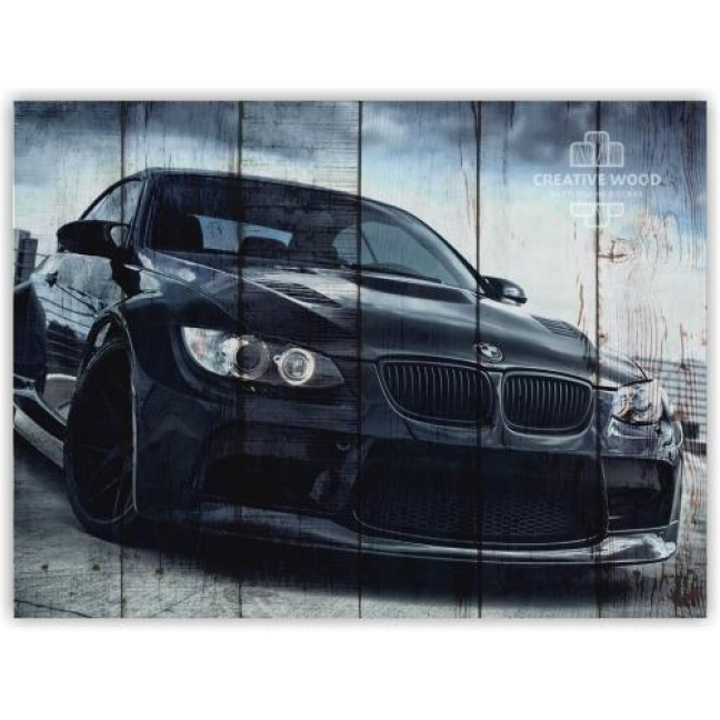 Painting on boards Pictures on the boards AUTO - BMW