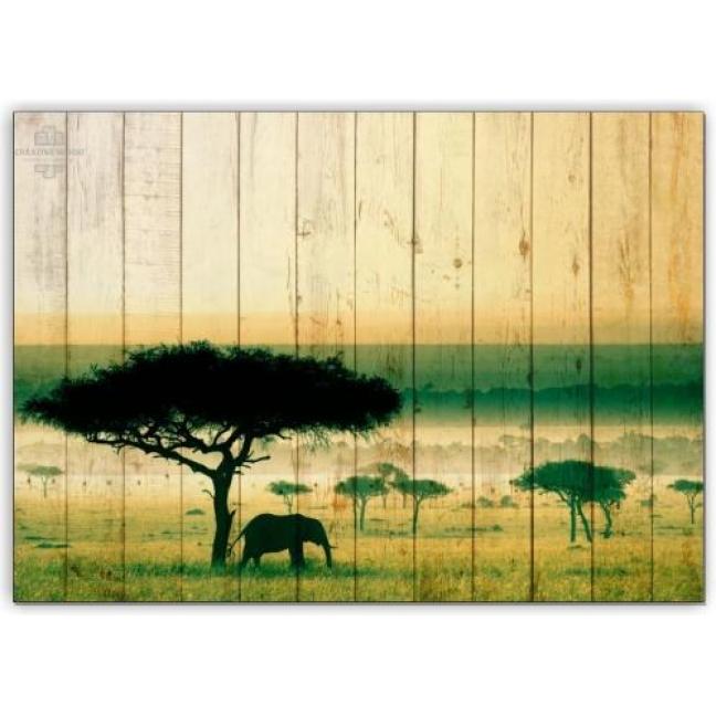 Painting on boards Africa - Savannah