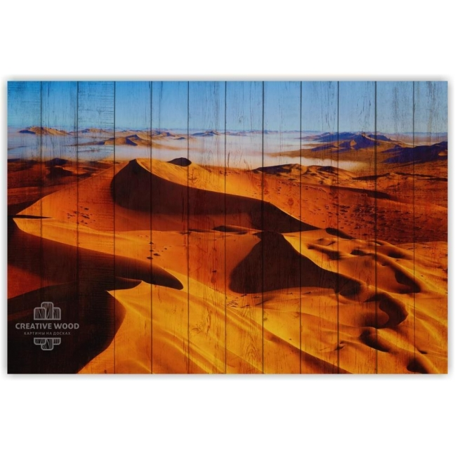 Painting on boards Nature - Desert Sands