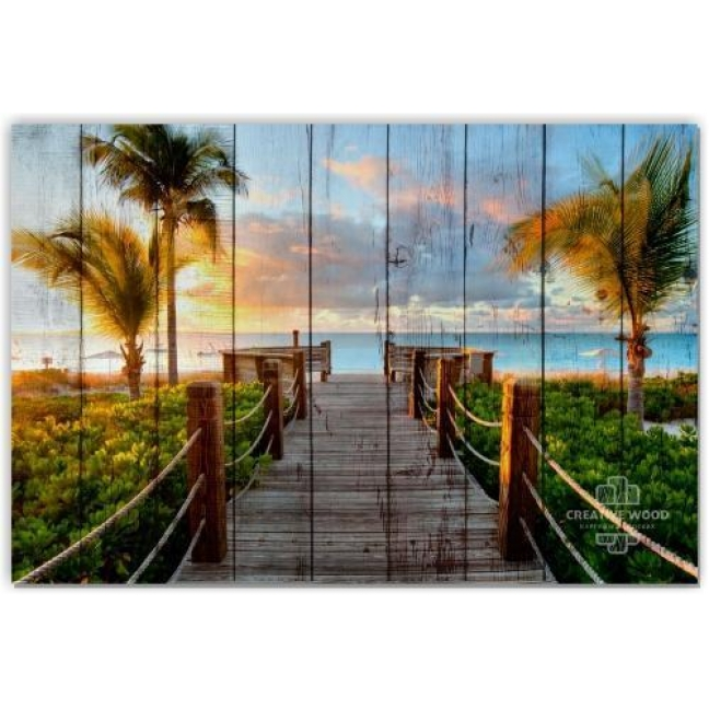 Painting on boards Nature - Tropics
