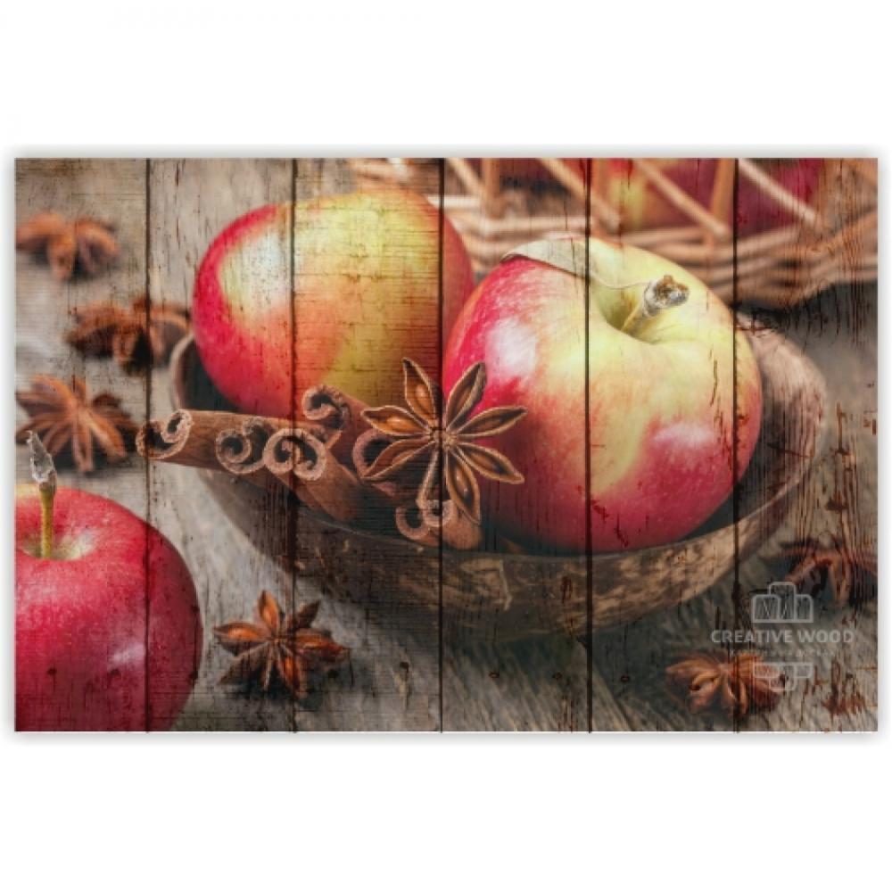Сладости и специи  — Яблоки с корицей