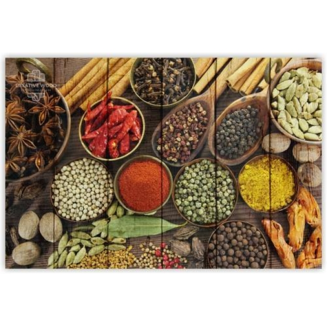 Painting on boards Sweets and spices - Spices