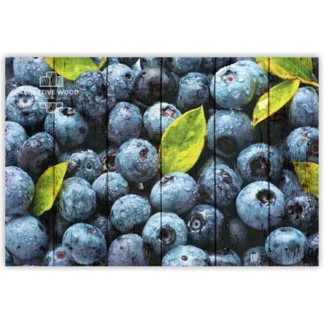 Painting on boards Sweets and spices - Blueberries