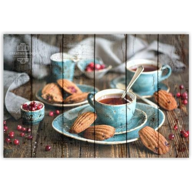 Painting on boards Sweets and spices - Tea