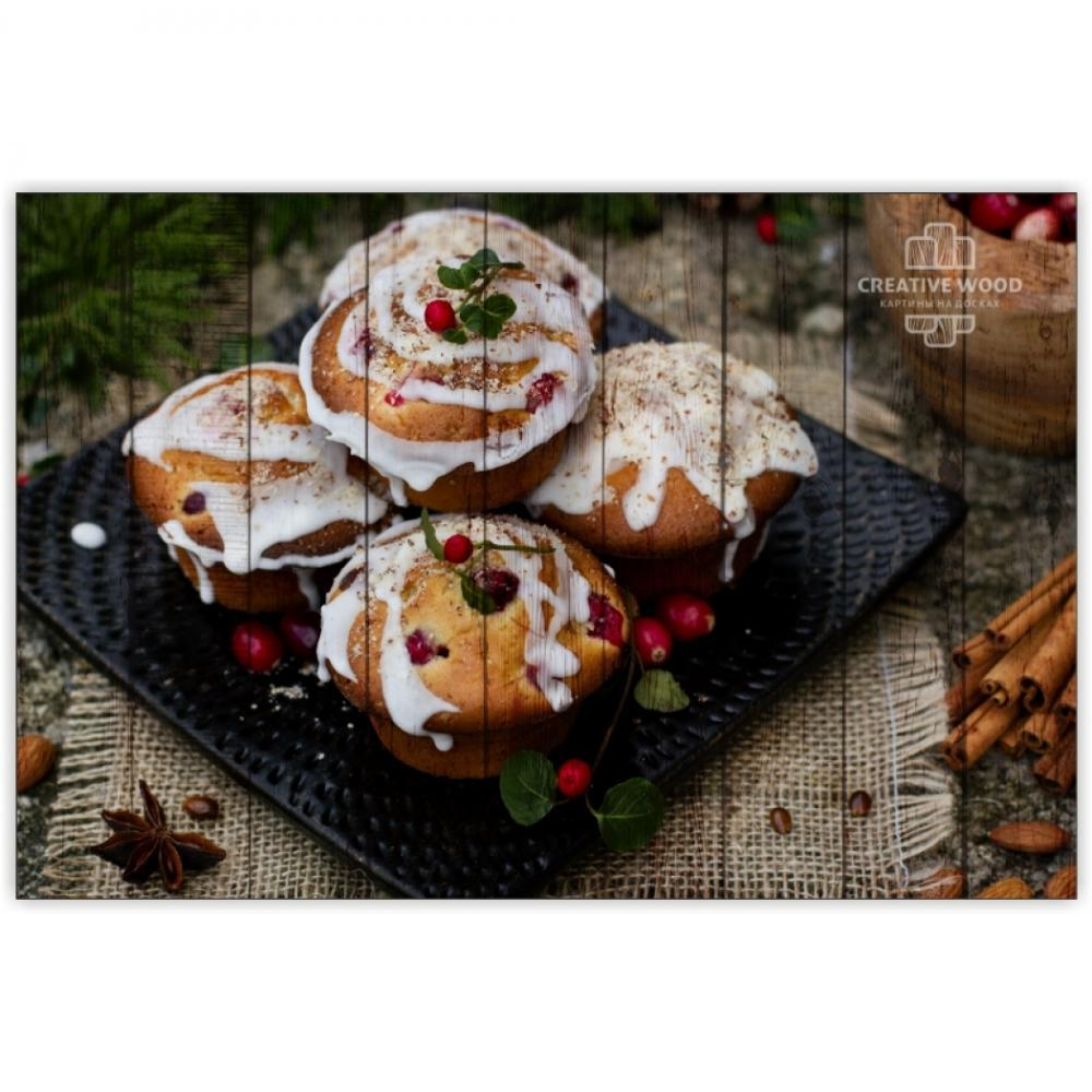 Sweets and spices - Cupcakes with cranberries