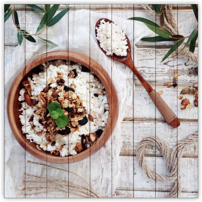 Sweets and spices - muesli