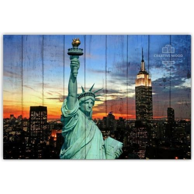 Painting on boards Countries - America