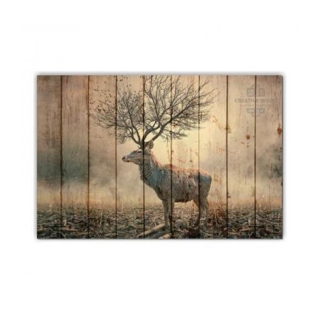 Painting on boards ZOO  — Deer