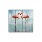 ZOO - Two flamingos
