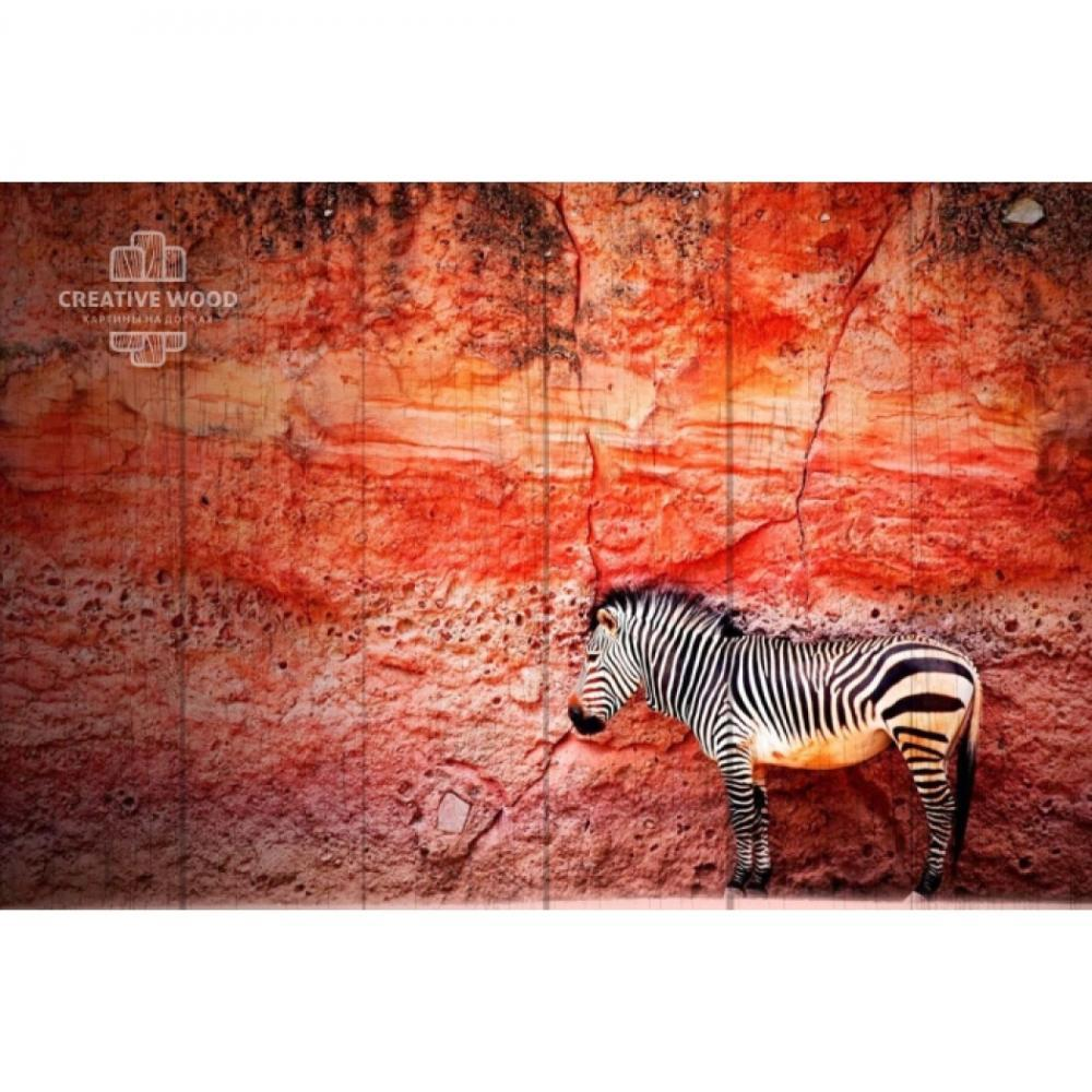 Picture on the boards - Zebra