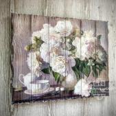 Цветы - Пионы в вазе
