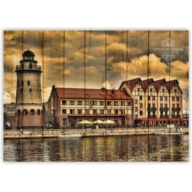 Painting on boards Kaliningrad
