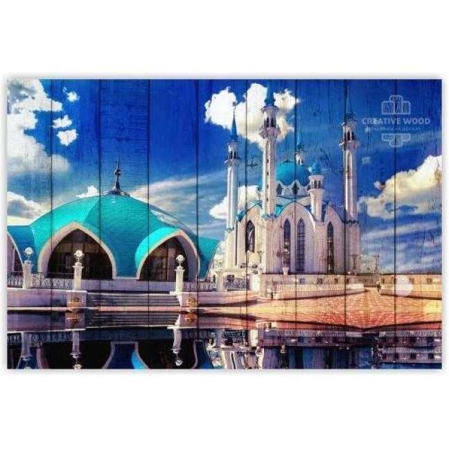 Painting on boards Kazan