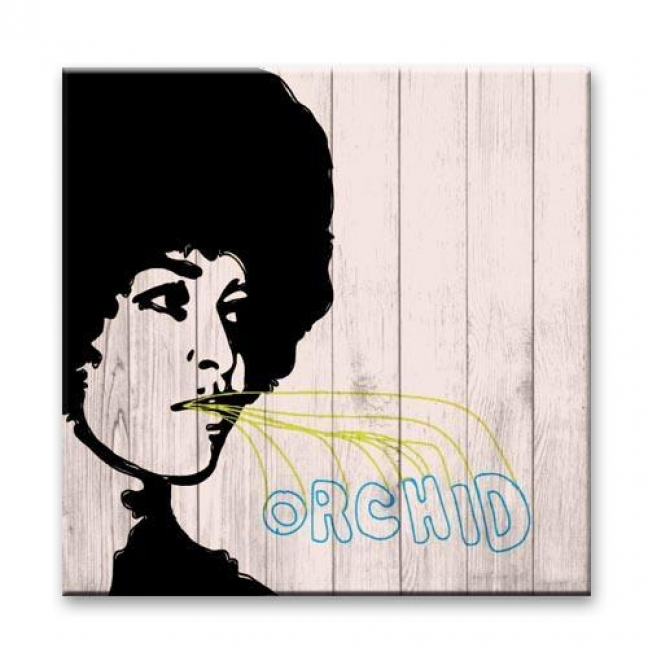 """Painting on boards Pictures on the boards Loft - """"Orchid"""""""