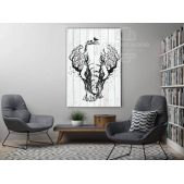"""Picture on the boards LOFT """"Elephant"""""""