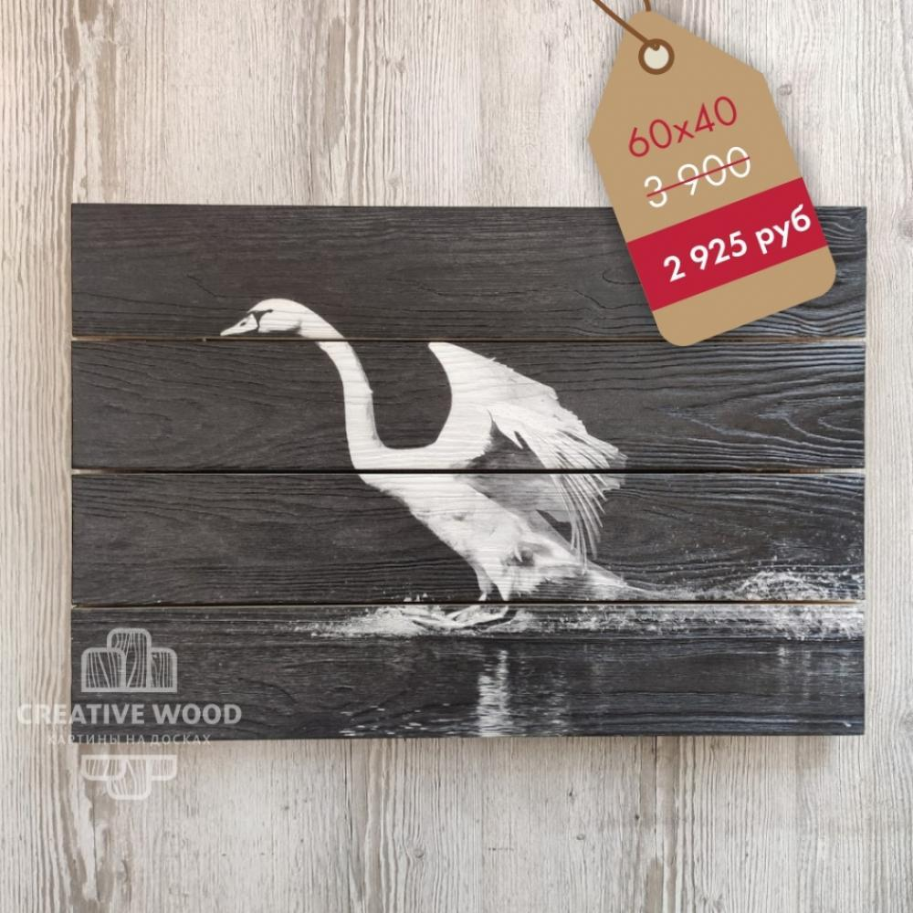 """Picture on the boards LOFT bw """" Swan """""""