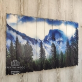 "Picture on the boards for the living room ""Mountains"""