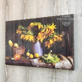 "Picture on the boards for the living room ""Sunflowers"""