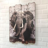 "Picture on the boards LOFT ""Elephant"""
